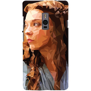 Oyehoye OnePlus 2 Mobile Phone Back Cover With Low Poly Art - Durable Matte Finish Hard Plastic Slim Case