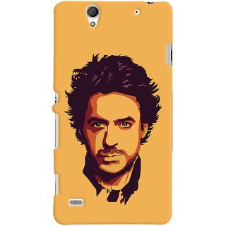 Oyehoye Sony Xperia C4 / Dual Sim Mobile Phone Back Cover With Robert Downey Jr. - Durable Matte Finish Hard Plastic Slim Case
