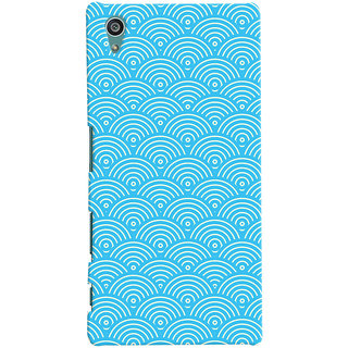 Oyehoye Sony Xperia Z5 Mobile Phone Back Cover With Pattern Style - Durable Matte Finish Hard Plastic Slim Case