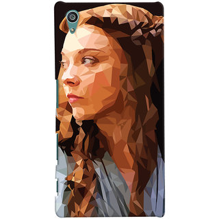 Oyehoye Sony Xperia Z5 Mobile Phone Back Cover With Low Poly Art - Durable Matte Finish Hard Plastic Slim Case