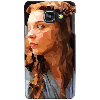 Oyehoye Samsung Galaxy A3 A310 (2016 Edition) Mobile Phone Back Cover With Low Poly Art - Durable Matte Finish Hard Plastic Slim Case