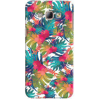 Oyehoye Samsung Galaxy A8 (2015) Mobile Phone Back Cover With Colourful Abstract Art - Durable Matte Finish Hard Plastic Slim Case
