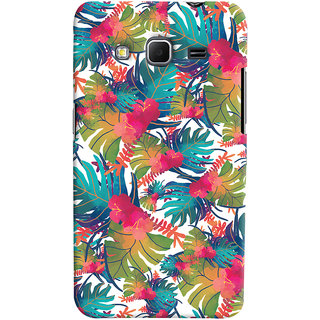 Oyehoye Samsung Galaxy Core Prime G360 Mobile Phone Back Cover With Colourful Abstract Art - Durable Matte Finish Hard Plastic Slim Case
