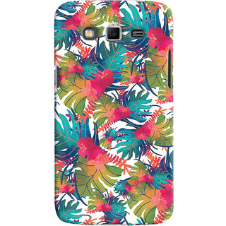 Oyehoye Samsung Galaxy Grand 2 G7106 Mobile Phone Back Cover With Colourful Abstract Art - Durable Matte Finish Hard Plastic Slim Case