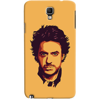 Oyehoye Galaxy Note 3 Neo Mobile Phone Back Cover With Robert Downey Jr. - Durable Matte Finish Hard Plastic Slim Case
