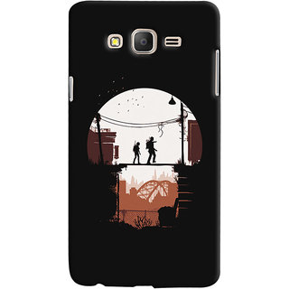 Oyehoye Samsung Galaxy ON7 Mobile Phone Back Cover With Travellers Quirky - Durable Matte Finish Hard Plastic Slim Case