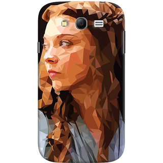 Oyehoye Samsung Galaxy Grand Neo / NEO GT Mobile Phone Back Cover With Low Poly Art - Durable Matte Finish Hard Plastic Slim Case