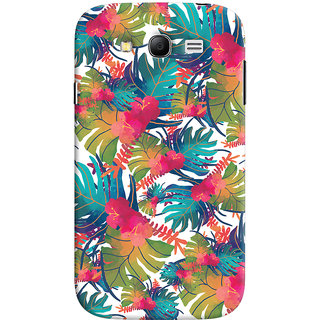 Oyehoye Samsung Galaxy Grand Neo / NEO GT Mobile Phone Back Cover With Colourful Abstract Art - Durable Matte Finish Hard Plastic Slim Case