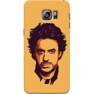 Oyehoye Samsung Galaxy S6 Edge Mobile Phone Back Cover With Robert Downey Jr. - Durable Matte Finish Hard Plastic Slim Case