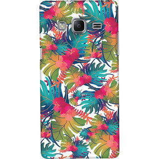 Oyehoye Samsung Galaxy Z3 Mobile Phone Back Cover With Colourful Abstract Art - Durable Matte Finish Hard Plastic Slim Case