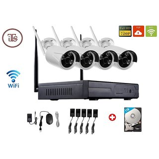 Wireless HD NVR 4CH Wifi NVR KIT.
