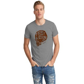 Dreambolic Think About Living Half Sleeve T-Shirt