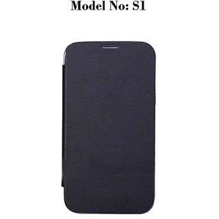 Premium Quality Flip/Book Cover For Karbonn S1 Titanium (Black) available at ShopClues for Rs.249
