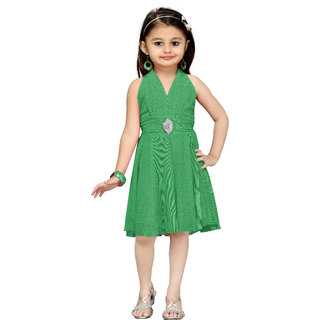 Aarika Girls Rama Layered Dress