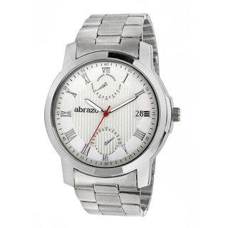 abrazo Analog Men's Watch 0051-WH