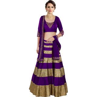 Latest Purple Beautiful Designer Lehenga Choli