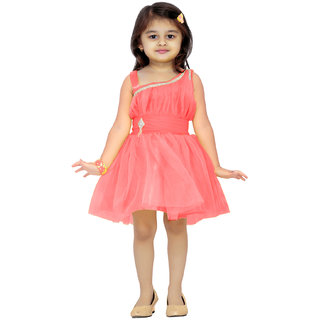 Aarika Girls Gajri Party Frock