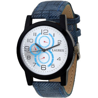 Laurex Analog Round Casual Wear Watches for Men LX-054