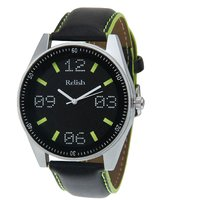 Relish Analog Black Dial Stylish Strap Watch For Mens, Boys, Relish-548