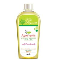 Kesh Regrowth Pure Almonds Ayurvedic Medicinal Hair Oil  (200 Ml)