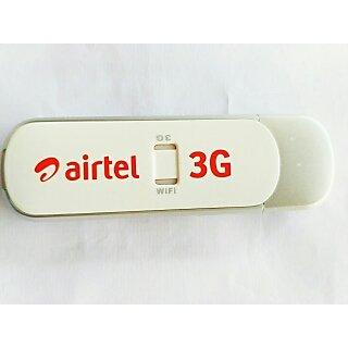 ZTE mf70 (airtel) WiFi +modem 21mbps (used modem)