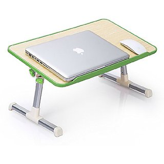 CheckSums 11938 Laptop Table Durable Strong Bed Tray Foldable With Cooling Fan Ventilated For Study  Reading  Eating  Craftwork Portable ETable Assorted Color available at ShopClues for Rs.1599