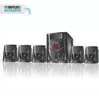 Melbon 5.1 Speaker System (MB-5100) - With FM, USB, AUX  Remote