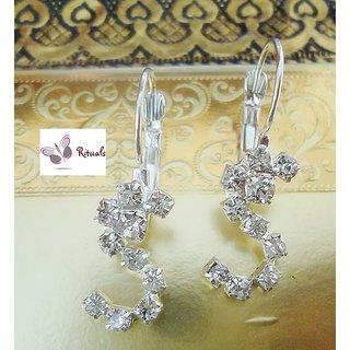 Rituals Cz Diamond Hoop Style Earring