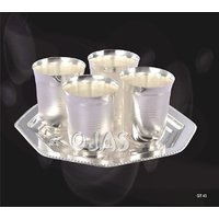 Ojas Silver Plated Glass Set - 3118114
