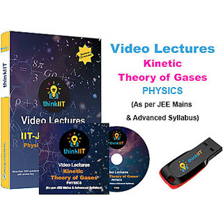 IIT JEE Video Lectures Kinetic Theory of Gases In DVD