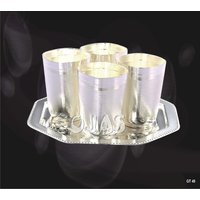 Ojas Silver Plated Glass Set - 3118314