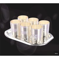 Ojas Silver Plated Glass Set - 3118358