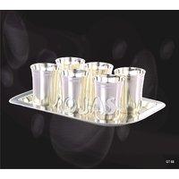 Ojas Silver Plated Glass Set - 3118432