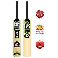 Cricket Bat Gas - Full Size - Tennis Bat - Free Tennis Ball