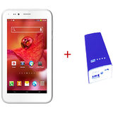 ADCOM A680 DUAL SIM 3G  PLUS  Power Bank APB54 with Led Torch -Blue