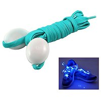 Nylon LED Flashing Light Up Glow Shoelace