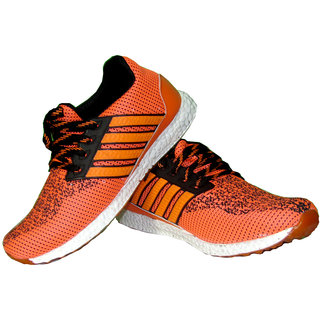 Men's Orange Sports Shoes