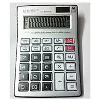 Crystal Button Big Display Calculator