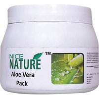 NICE NATURE ALOE VERA FACE PACK 450G