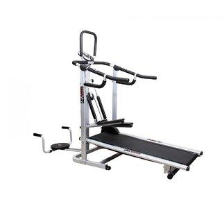 Lifeline Manual 4 in 1 Treadmill DLX Model (Stepper , Twister, Push Ups, Jogger)
