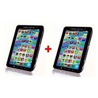 Buy 1 Get 1 Free- P1000 Kids Black Educational Tablet Toy Gift