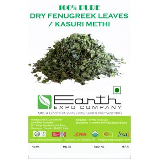 100 Pure Dry Fenugreek Leaves/Kasuri Methy - 100 GRAM