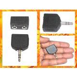 Stereo 3.5mm 1 8 Y Splitter Male To 2 Female Audio Headphone Adapter