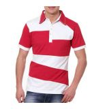 Ask For Fashion Red/White T-Shirt-JXM057