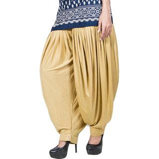Women,Beigepatiala Dhoti salwar
