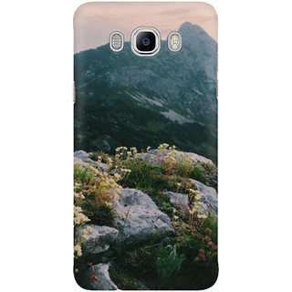 Dreambolic Mountain Flowers At Sunrise Mobile Back Cover