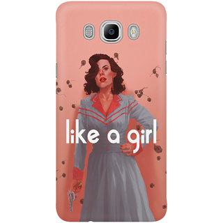 Dreambolic Like A Girl Mobile Back Cover