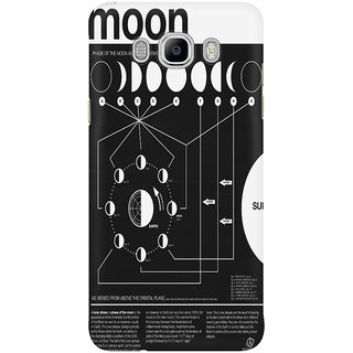 Dreambolic Phases Of The Moon Infographic Mobile Back Cover