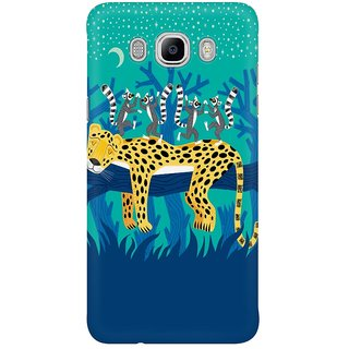 Dreambolic The Leopard And The Lemurs Mobile Back Cover