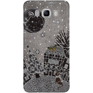 Dreambolic Twas A Moonlit Winter Night Mobile Back Cover